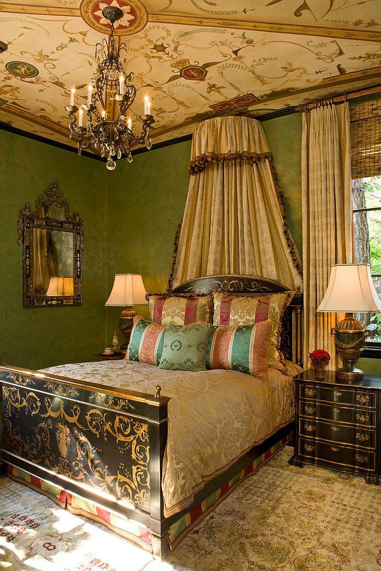 Idee per arredare la camera da letto in stile vittoriano n.09