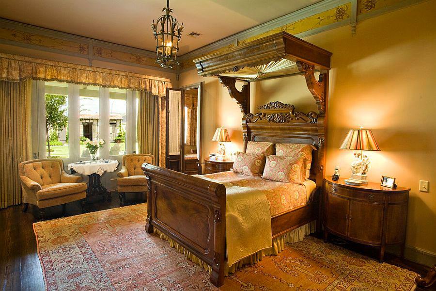 20 camere da letto in stile vittoriano for Camera da letto vittoriana buia