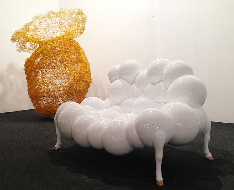31 esempi di arredamento con divani rotondi for Divani da design