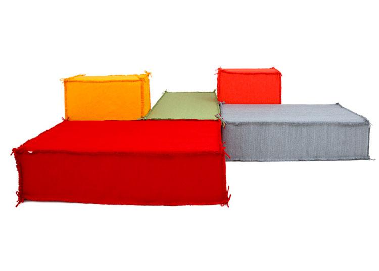 20 spettacolari divani dal design originale for Divano particolare