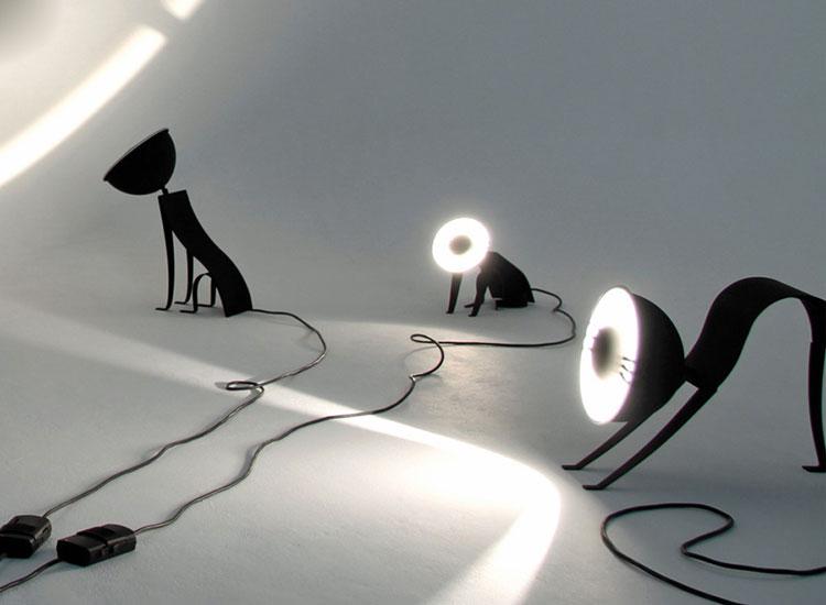 Lampade a forma di animali davvero originali n.04