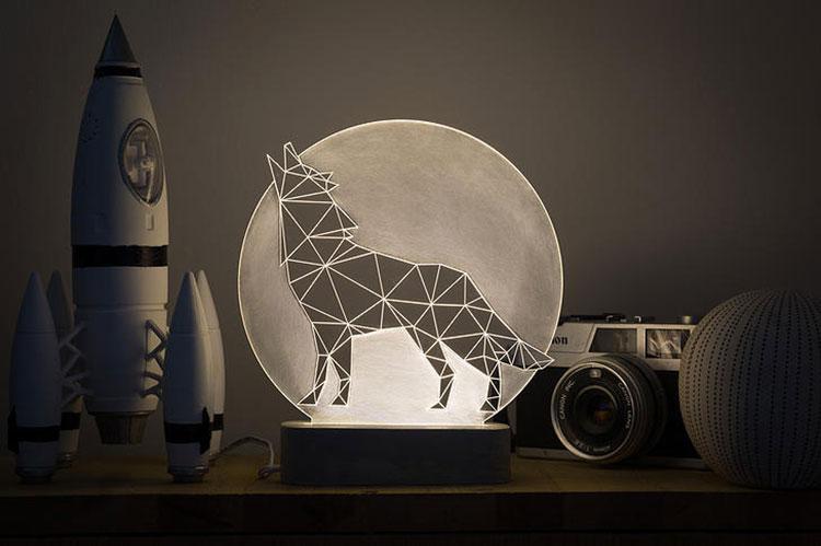 Lampade a forma di animali davvero originali n.13