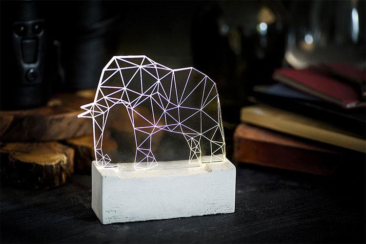 Lampade a forma di animali davvero originali n.14