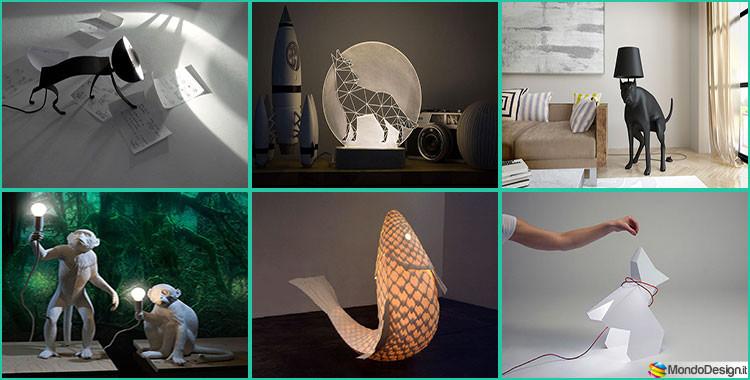 Lampade Forma Animali Originali