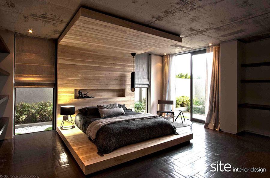 Letto in legno dal design originale n.03