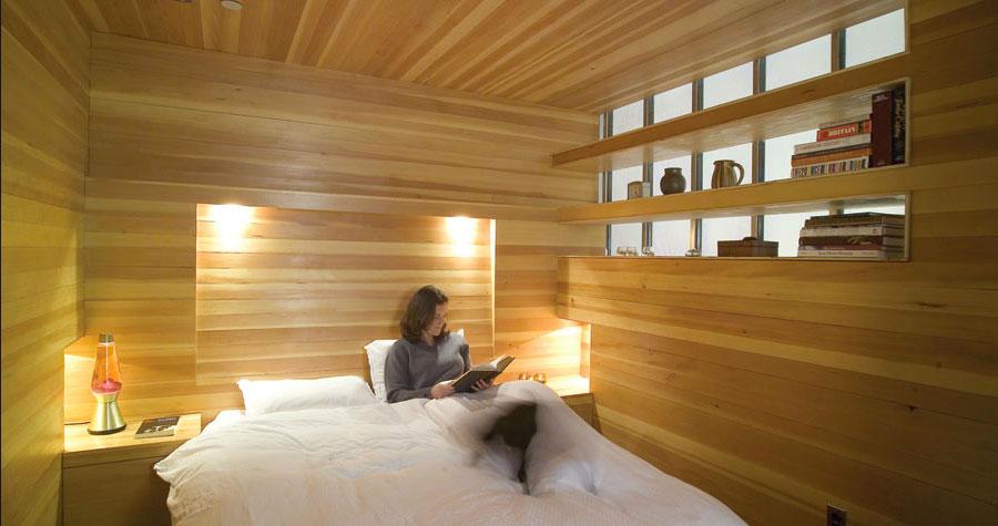 Letto in legno dal design originale n.04