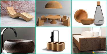 Mobili e Oggetti in Sughero: 15 Creazioni di Design