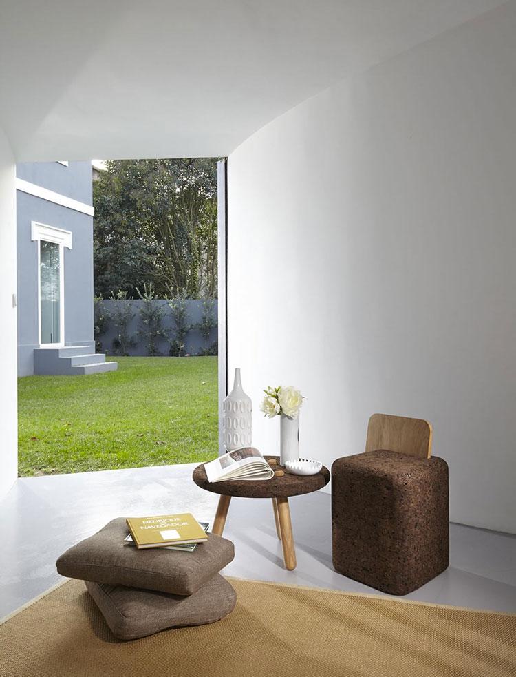 Mobili e oggetti design realizzati in sughero n.02