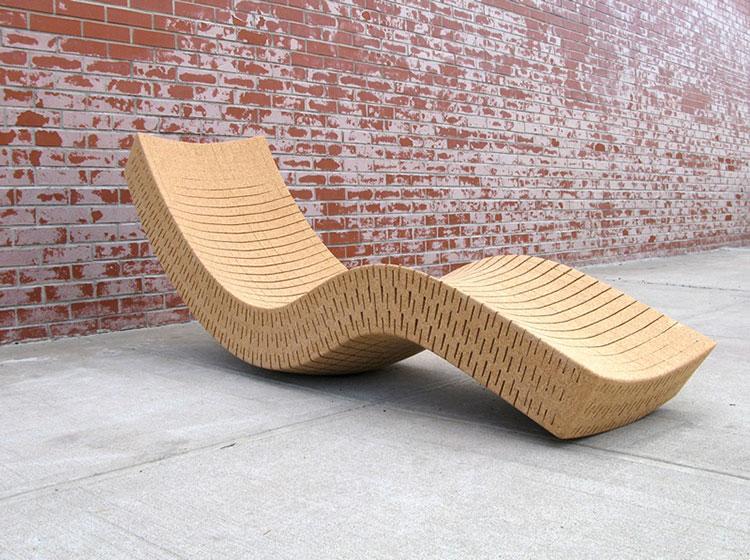Mobili e oggetti design realizzati in sughero n.05