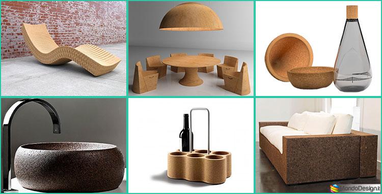 Mobili e oggetti in sughero 15 creazioni di design for Oggetti arredo design