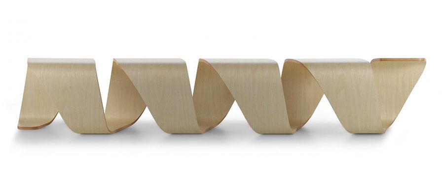 Spettacolari panche di design in legno n.01