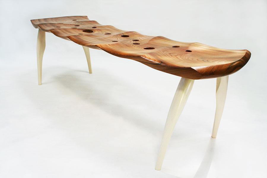 Spettacolari panche di design in legno n.06