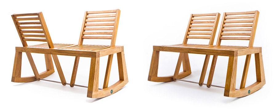 Spettacolari panche di design in legno n.10
