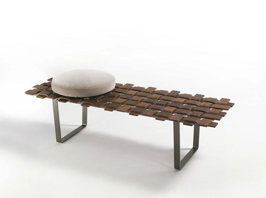 Spettacolari panche di design in legno n.14