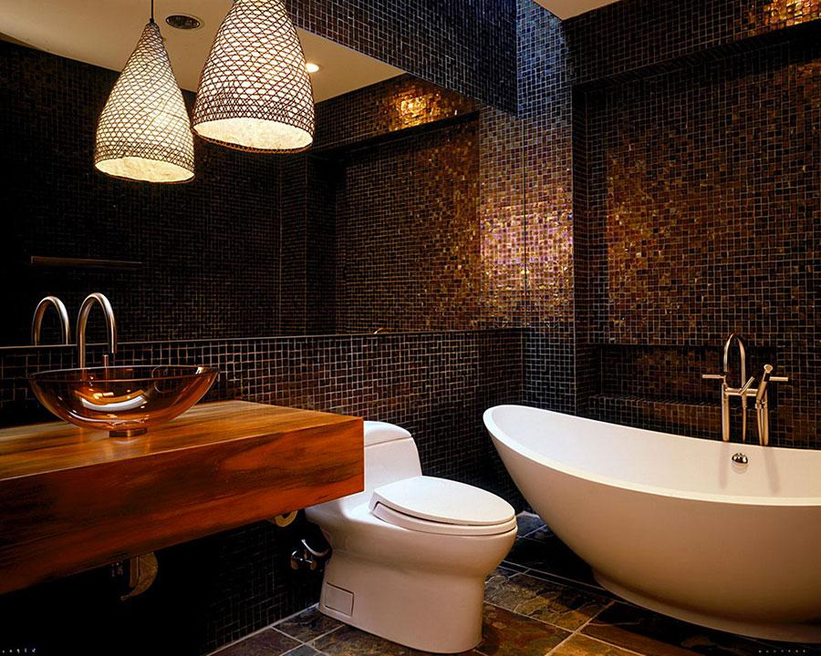 Piastrelle a Mosaico per il Bagno: Eccone 20 Bellissimi Esempi ...