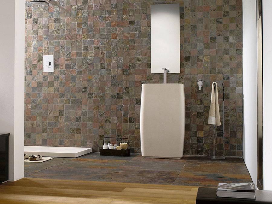Piastrelle a mosaico per il bagno n.11