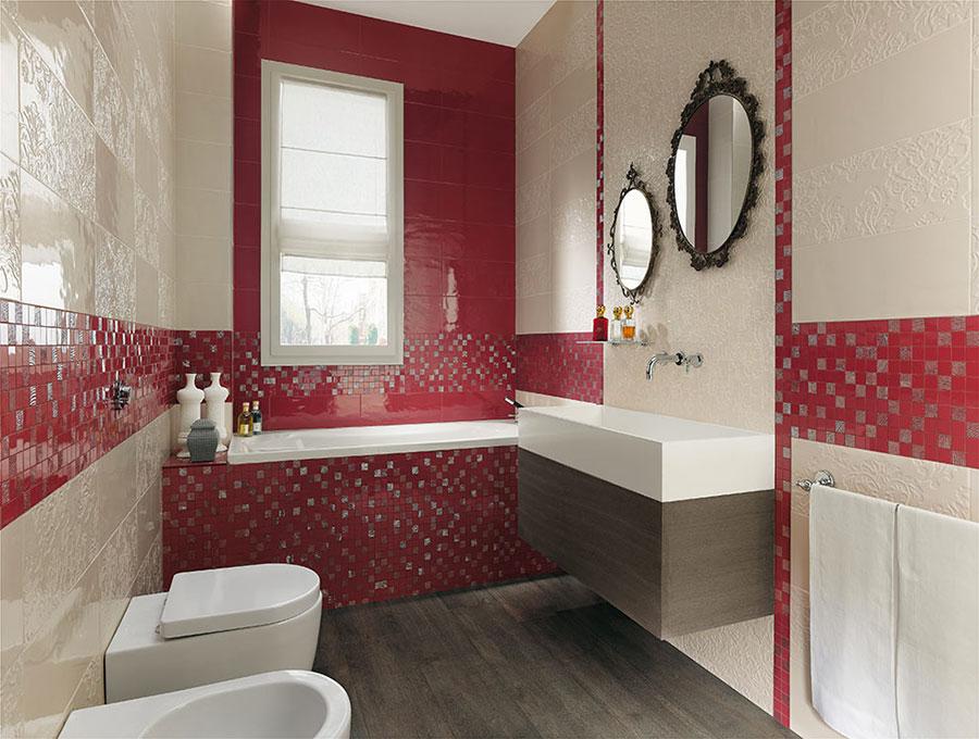 piastrelle a mosaico per il bagno eccone 20 bellissimi esempi. Black Bedroom Furniture Sets. Home Design Ideas