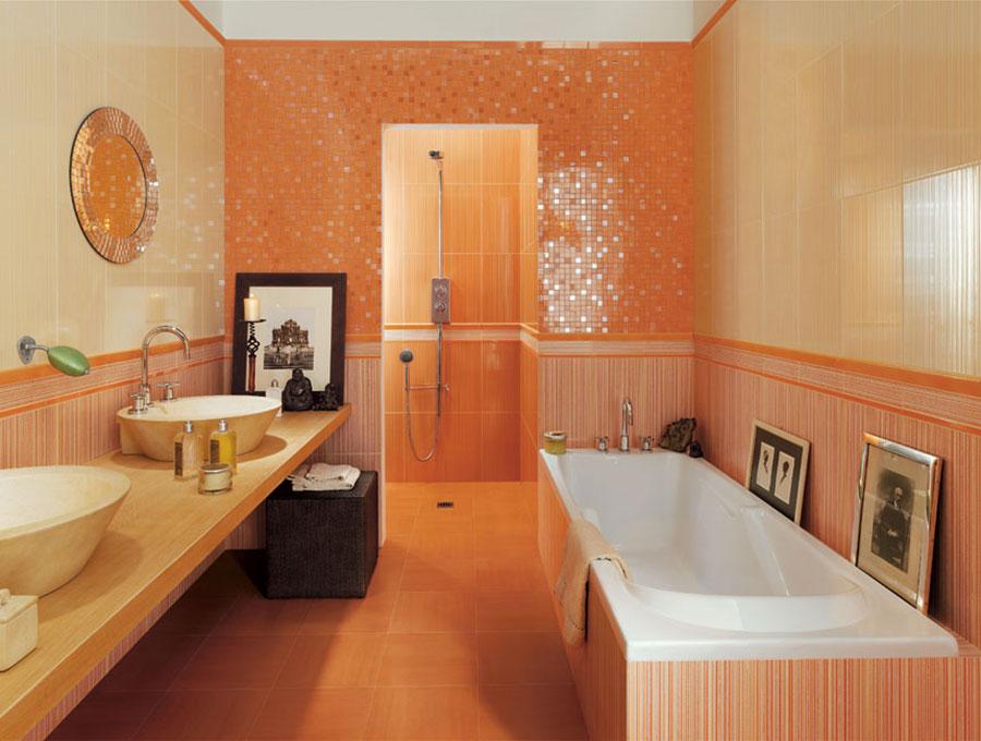 Piastrelle a mosaico per il bagno eccone 20 bellissimi - Piastrelle bagno lucide o opache ...