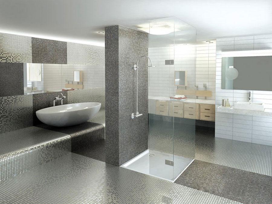 Piastrelle a mosaico per il bagno n.19