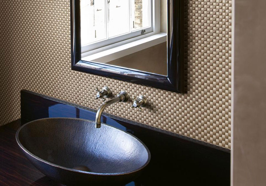 Piastrelle a mosaico per il bagno n.22