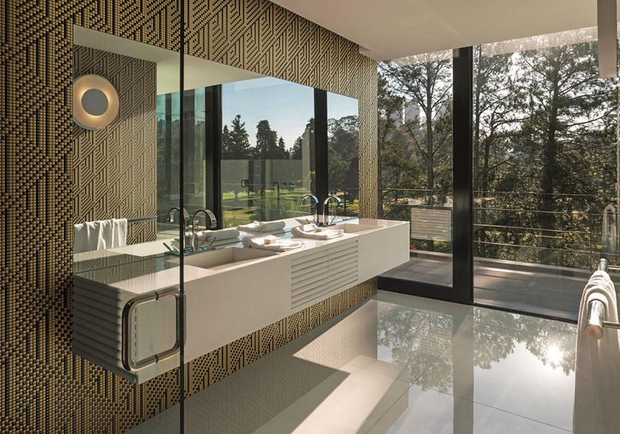 Piastrelle a mosaico per il bagno n.24