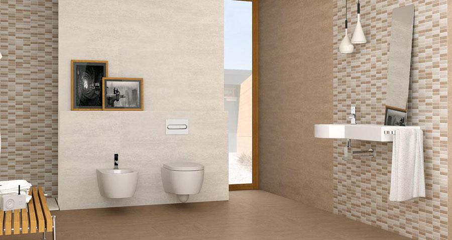 Piastrelle a mosaico per il bagno n.26
