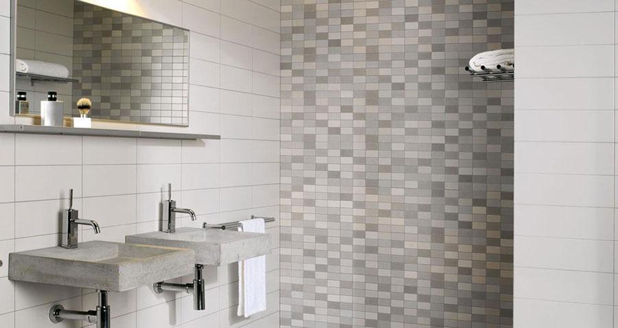 Piastrelle a mosaico per il bagno n.27