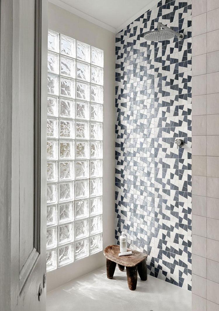 Piastrelle a mosaico per il bagno n.28