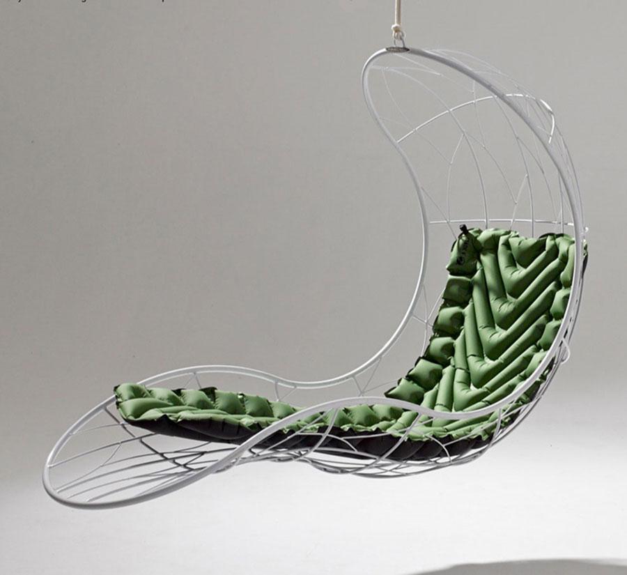 Poltrone Sospese Da Giardino.Poltrone Sospese Da Interni Dal Design Unico Mondodesign It