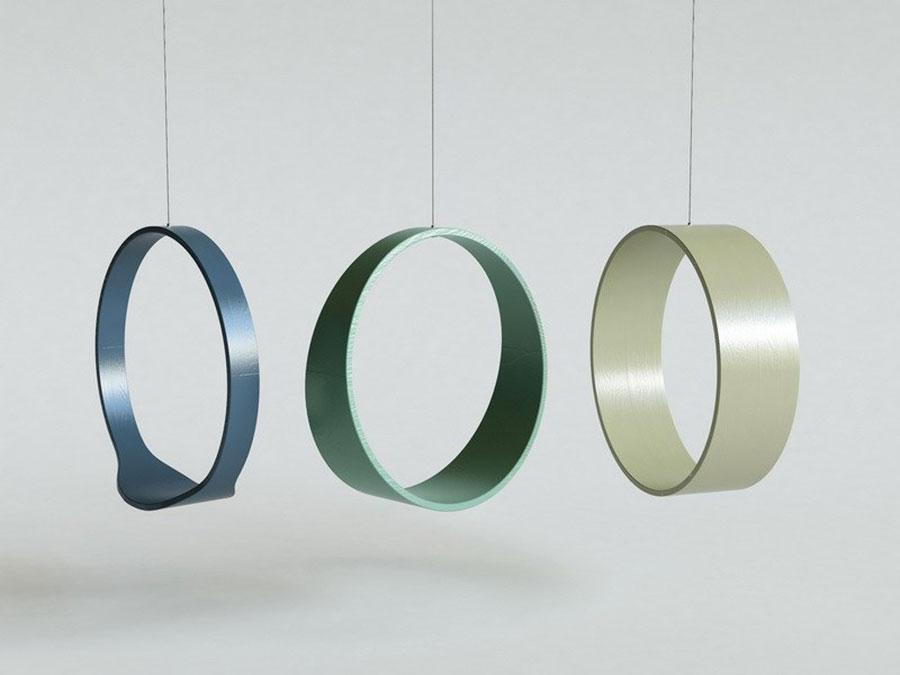 Modello di poltrona sospesa di Iwona Kosicka Design