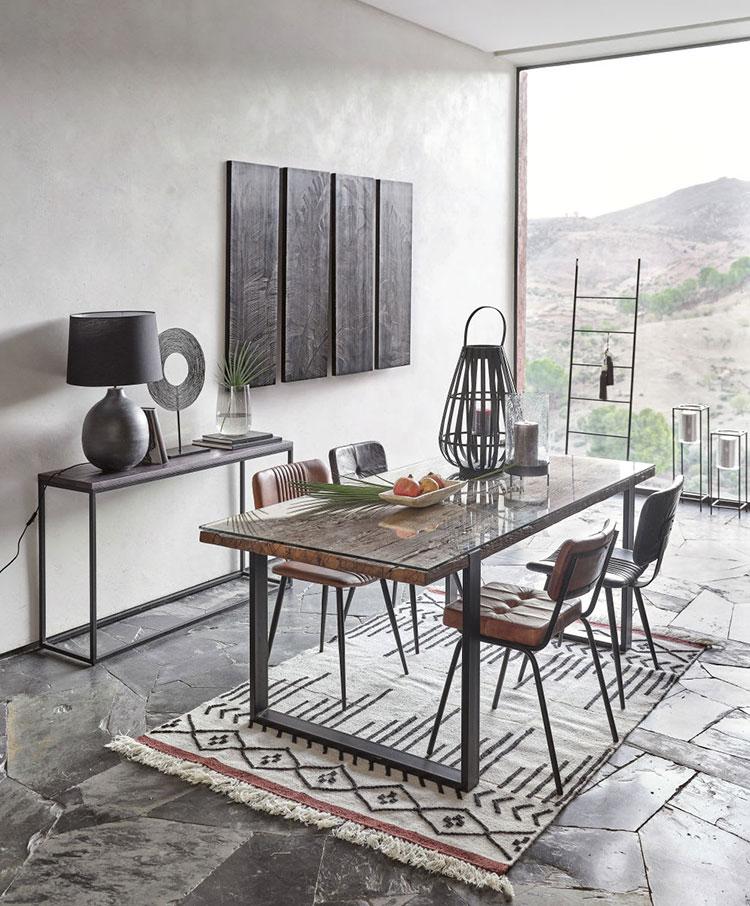 Modello di tappeto Kilim moderno n.1