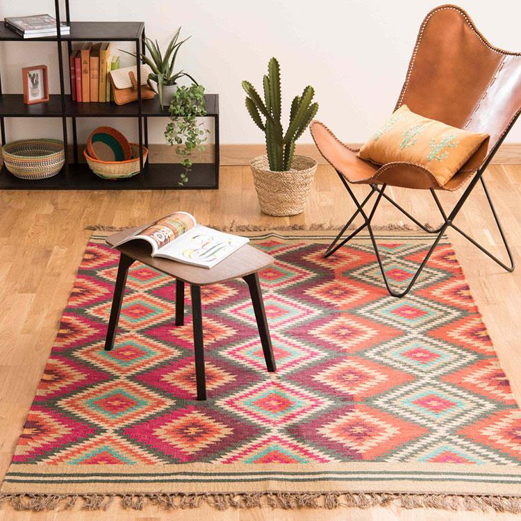 Modello di tappeto Kilim moderno n.2
