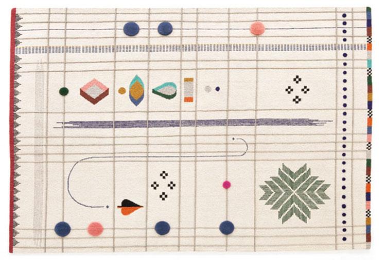 Tappeto dal design particolare n.19