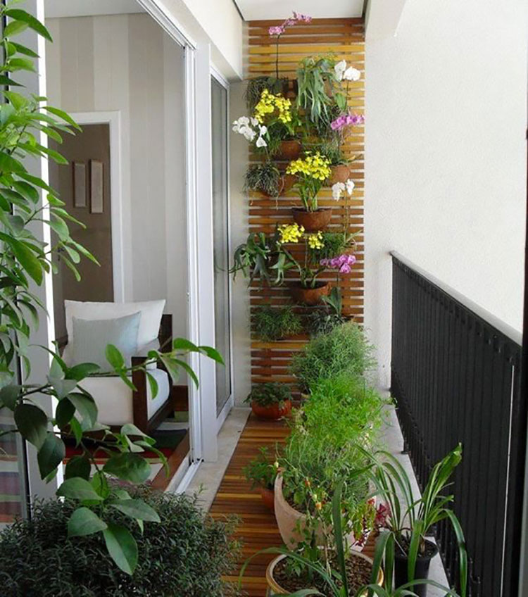 Idee per arredare piccoli balconi n.03