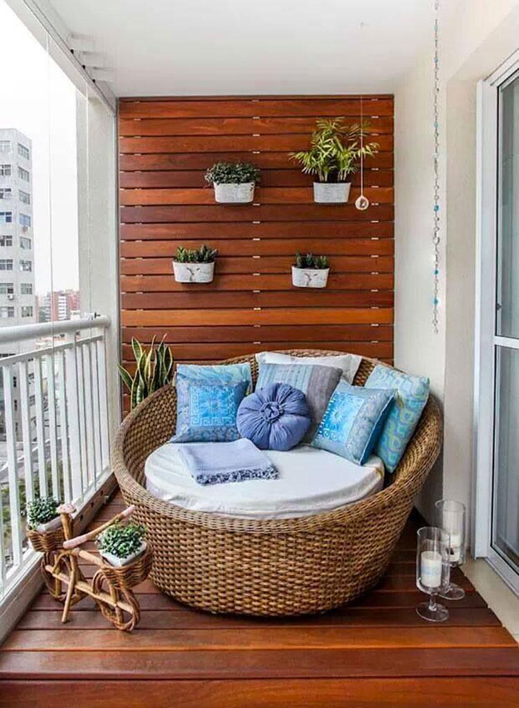 Idee per arredare piccoli balconi n.04