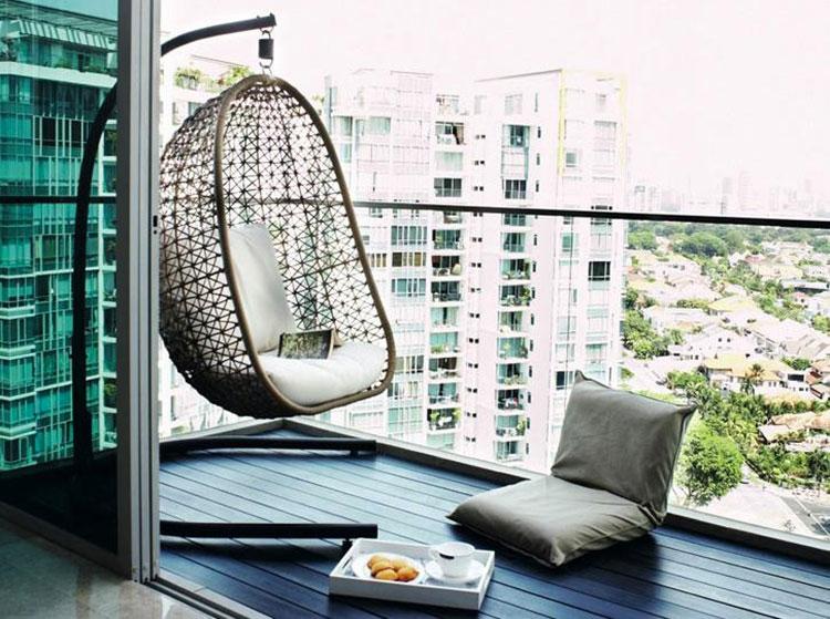 Arredamento per balconi semplici idee per piccoli spazi for Arredamento outdoor design