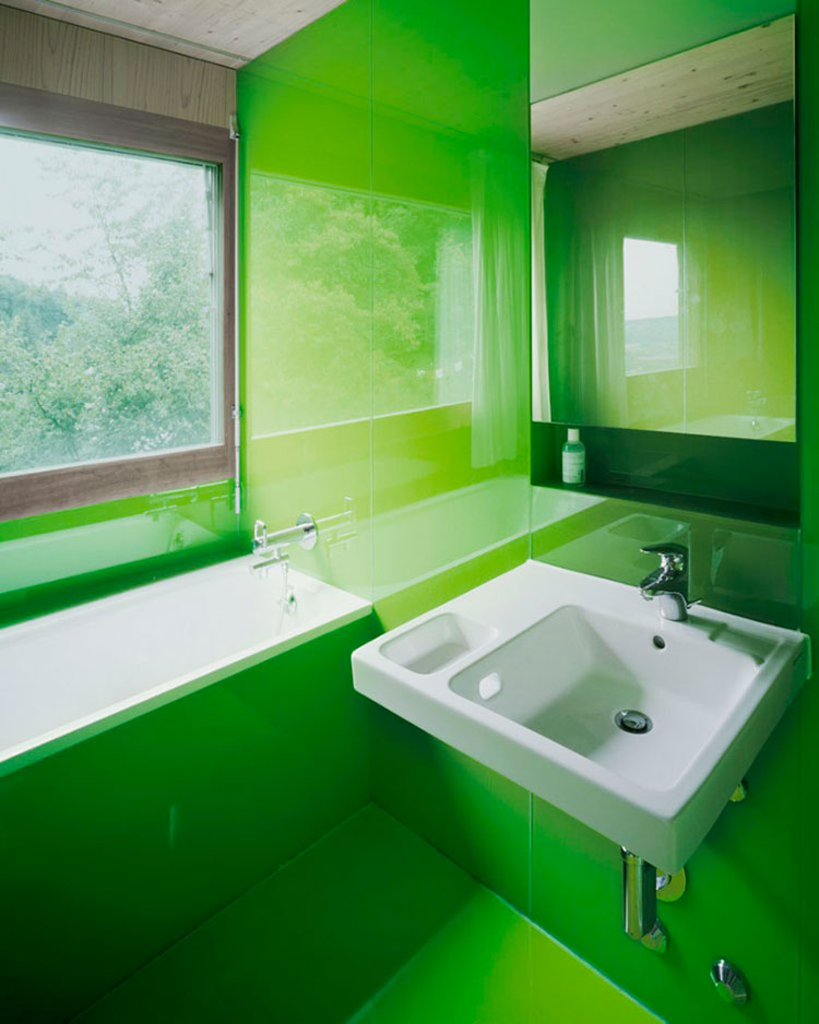 15 Bagni Verde (Lime) dal Design Moderno | MondoDesign.it