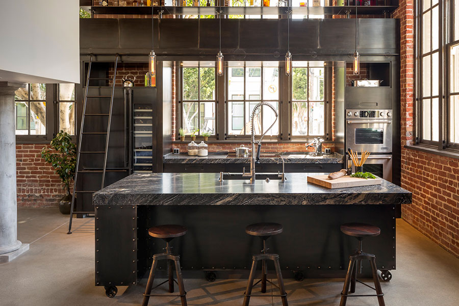 Famoso Come Arredare una Cucina Stile Industriale | MondoDesign.it GJ46