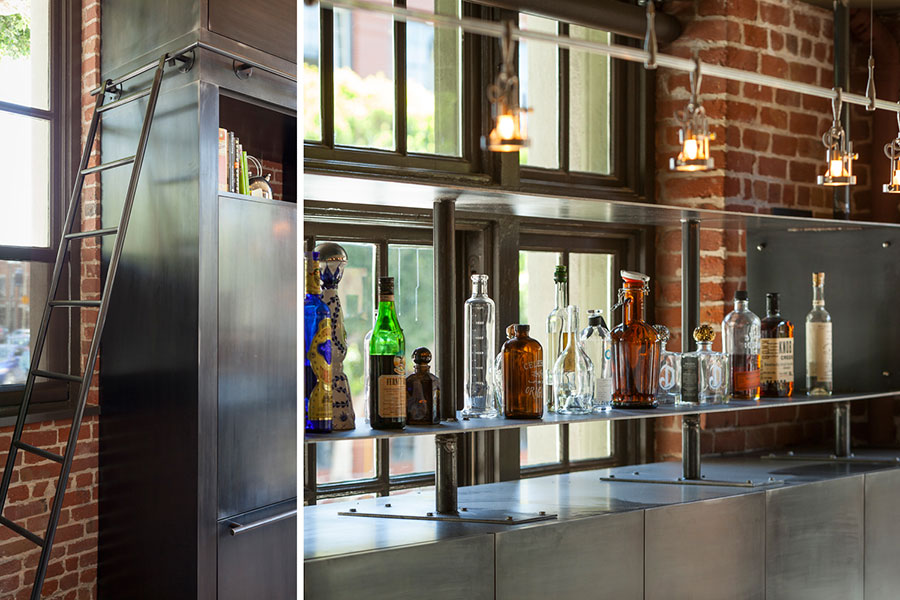 Come arredare una cucina stile industriale for Bar stile industriale