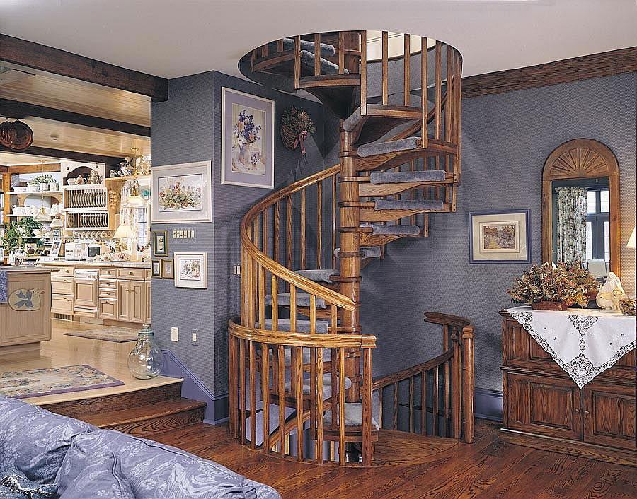 Idee per la decorazione di scale shabby chic n.07