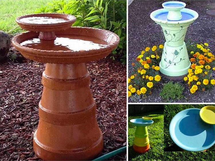 Decorazione Vasi Da Giardino : Decorazioni da giardino con vasi di terracotta mondodesign.it