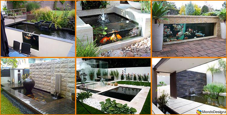 Come creare un laghetto koi in casa o in giardino 20 idee for Idee giardino moderno