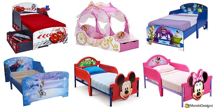 32 Letti per Bambini della Disney in Vendita Online | MondoDesign.it
