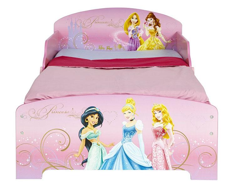 Letto delle principesse Disney per bambine n.01