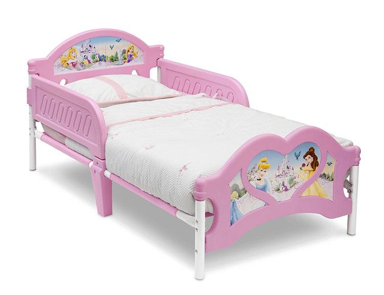 Letto delle principesse Disney per bambine n.02
