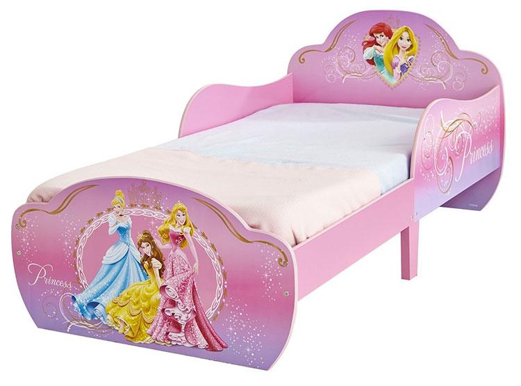 Letto delle principesse Disney per bambine n.03