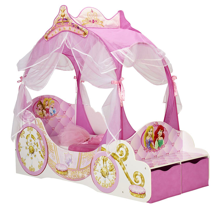 Letto delle principesse Disney per bambine n.07