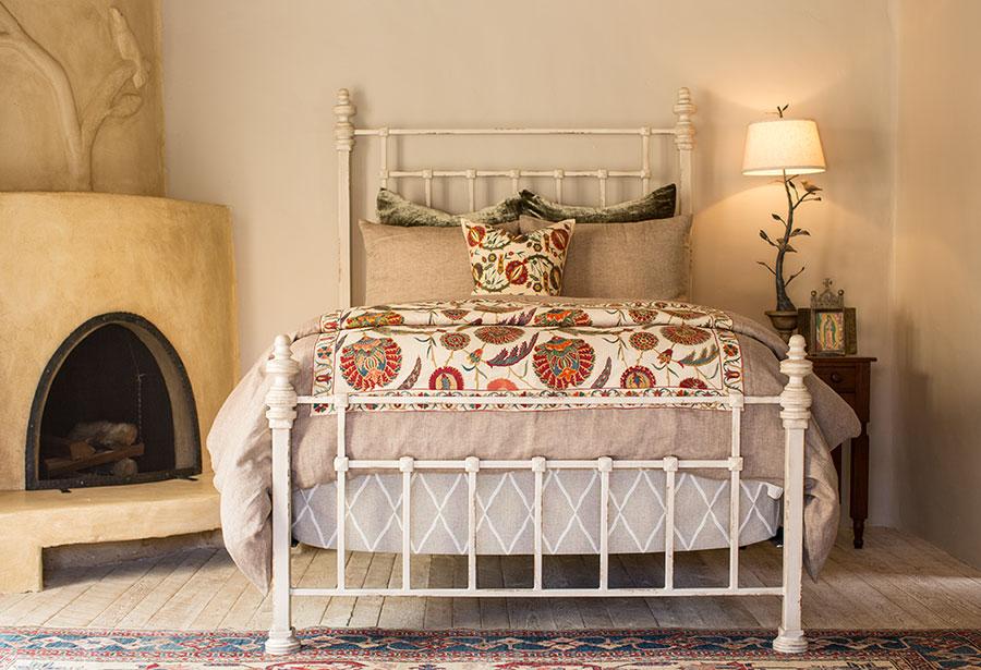 20 esempi di letti matrimoniali in ferro battuto - Camere da letto ferro battuto ...