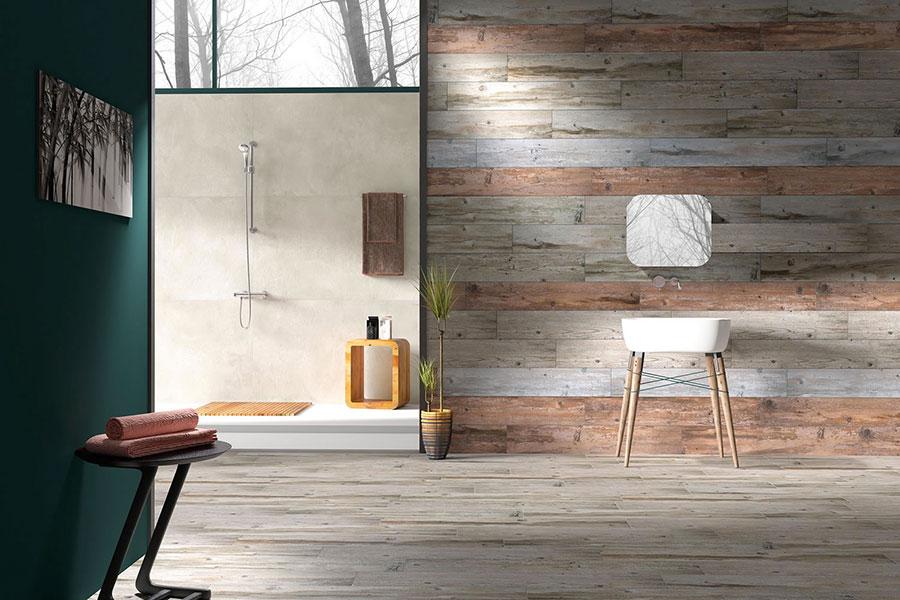 Piastrelle effetto legno in gres n.01