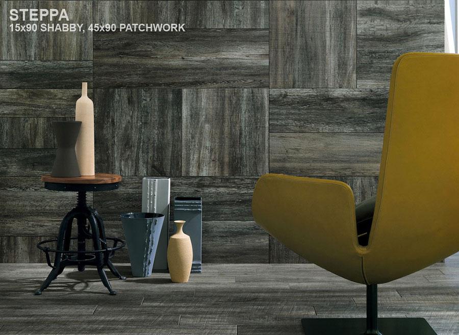 Piastrelle effetto legno in gres n.12